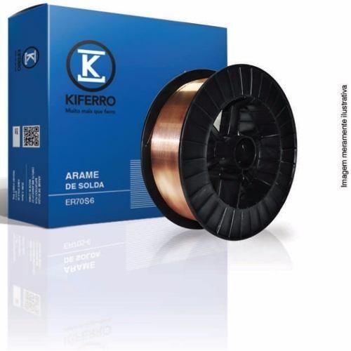 Arame MIG 0,8mm Emb. 15Kg KIFERRO