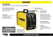 inversora 200 Amperes Bivolt ITE-8200-BIV Tork