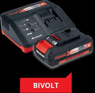 Kit PXC Carregador Bivolt + 1 bateria 18V 2,0AH